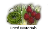 Dried Materials
