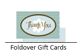 Foldover Gift Cards