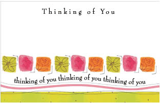 Panel Gift Cards - Thinking Of You