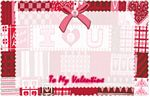 Panel Gift Cards - To My Valentine