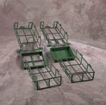 Open Base Cage - Green