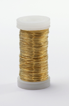 Gold Metallic Wire